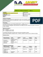 AULA 1 Planejamento Pedagogico 2014-1 Fund Adm