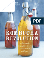 Kombucha Revolution by Stephen Lee - Master Plain Kombucha Recipe