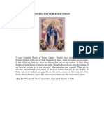 Novena to the Blessed Virgin Mary