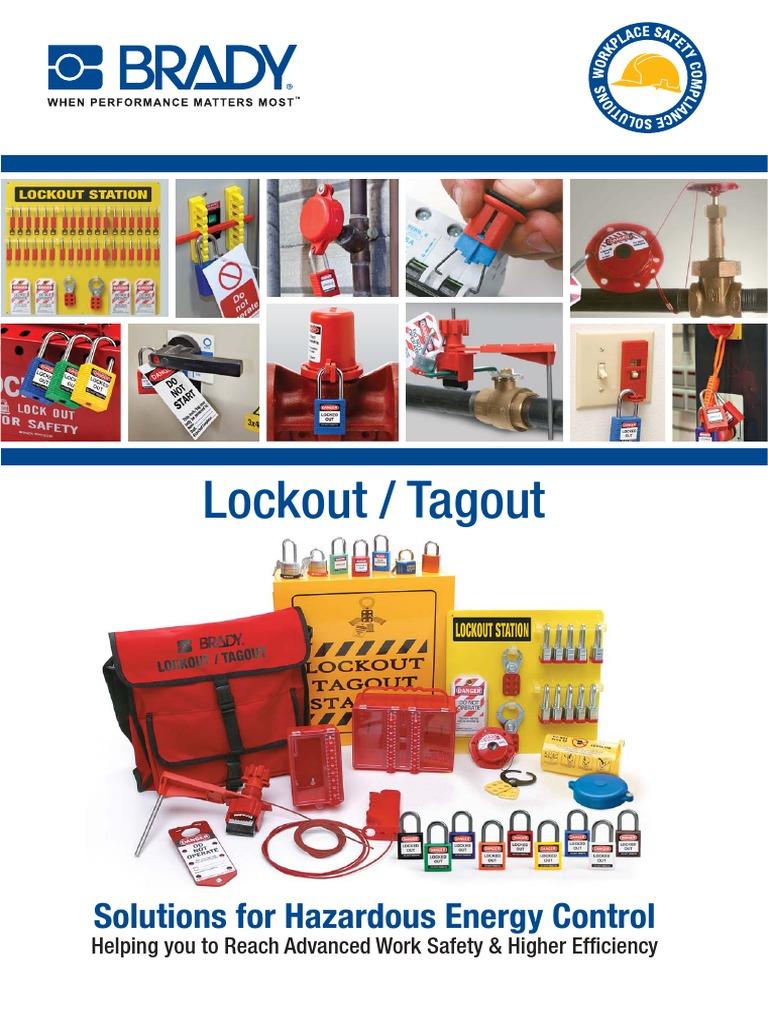 Lockout Tagout Loto Catalogue En Nature