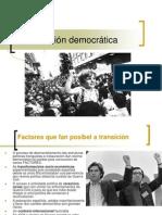 A Transición Democrática