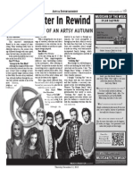 Fall Semester in Rewind Page Layout