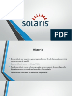 Sistema Operativo Solaris.