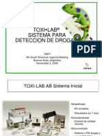 TOXI-LAB Drug Detection Systems BA
