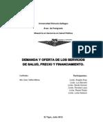 Universidad Rómulo Gallegos ECONOMIA de LA SALUD