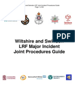 032. Wilts Swindon LRF Joint Procedures Guide