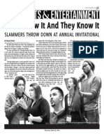 Poets Show It And They Know It Page Layout