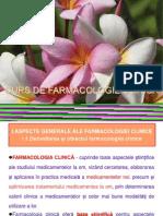 1. CURS Farmacologie clinică