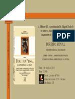 Convite - Livro Prof. Miguel Reale Junior