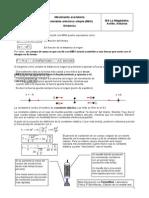 Movimiento Armonico Simple II. Dinamica Energia Resonancia