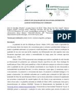 Calculo de Um Indice de Qualidade de Solo Para Diferentes Agroecossistemas Do Cerrado