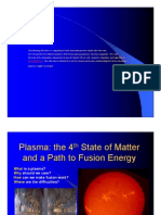 Plasma 4th State of Matter