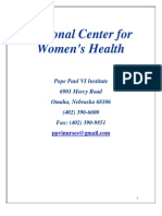 National Center for Women's Health