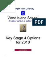 KS4 Booklet for 2010 (GCSE Booklet)