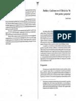 9 Partidos y Coaliciones en El Chile de Los 90 Claudio Fuentes