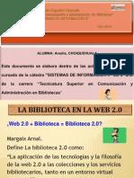 La Biblioteca en La Web 2.0