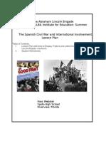 SCW and International Involvement Lesson Plan