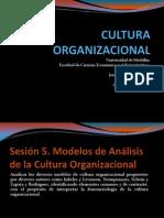 2014-1 Sesion-5 Diapositivas Modelos Analisis Cultura Pregrado-1