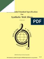 Wstda Standard Web Slings