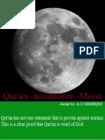 Qur'an - Astronomy & Moon