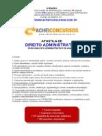 ApostilaDirAdministrativo-ANALISTA-ANATEL