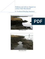 Nitrogen Pollution and Adverse Impacts on Resilient Tidal Marshlands