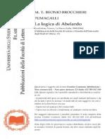 M.T. Beonio Brocchieri Fumagalli - La Logica Di Abelardo