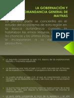 LA GOBERNACIÓN Y COMANDANCIA GENERAL DE MAYNAS.pptx