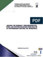Manual de Contrataciones Enero 2013 PUB