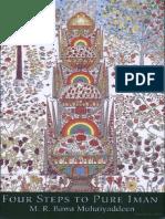 Bawa Muhaiyaddeen - Four Steps to Pure Iman (79p)