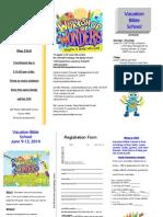 2014 VBS Brochure