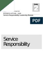 Service Responsibility Workbook