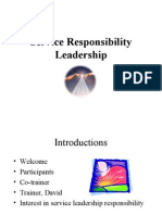 Service Responsibility Leadership