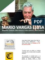 Mario Vargas Llosa Expo Sic In