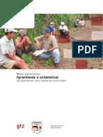 Manual Aprendiendo a Sistematizar PDRS GTZ Escuela