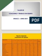 Trabajo en Equipo Dimensiones y Coaching C