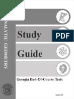 eoct analytic geometry study guide