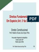 Artigo 5 - Direitos Fundamentais Em Espécie - Juspodivm 2011 Aul A