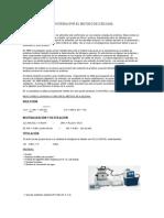 Determinacion de Proteinas Por El Metodo de Kjeldahl