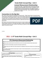 grade 4 math unit 3 concept map 2013-14 with tasks