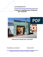 Estudio de Suelos-pamplona Barrio Las Americas