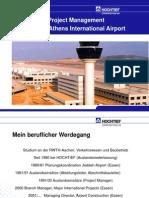 Prasentation Flughafen Athen