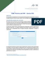[Tdw] Práctica Php 2014