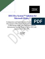Hyper-V Medium Fast Track for IBM Flex System With V7000
