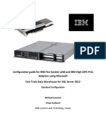 IBM Fast Track DataWarehouse SQLServer 2012 Std x240 7TB ConfigurationGuide