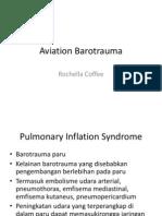 Aviation Barotrauma