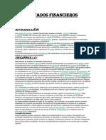 Estados Financieros Monografia