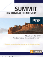 Sirona 3D Summit Program