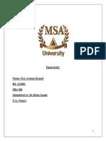 Mkt306 Final Draft