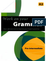 Work on Your Grammar Pre-Intermediate A2 (RED)